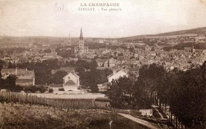 Vue du mont St Antoine. © Epernay Patrimoine