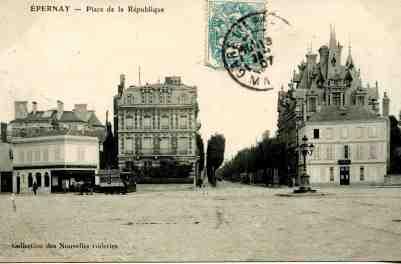 Construite en 1841 par Louis-Philippe et la future avenue de Champagne. © Epernay Patrimoine
