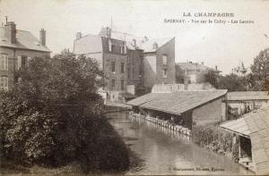 Vue du pont de la rue de Magenta.